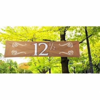 12 5 jaar jubileum banner koper