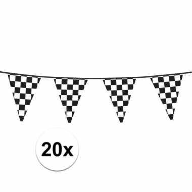 20x racing vlaggenlijn 6 meter