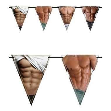 2x vlaggenlijnen torso 6 meter