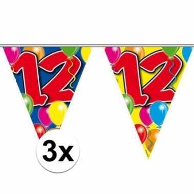3x leeftijd slingers 12 jaar 10 meter