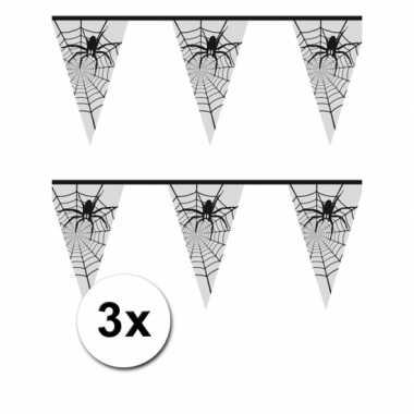 3x spinnen slinger 6 meter