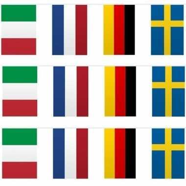 3x vlaggenlijn europese landen