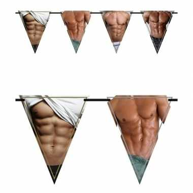 3x vlaggenlijnen torso 6 meter