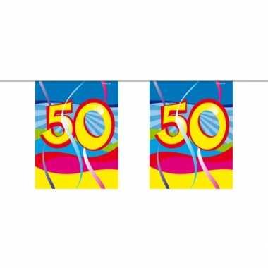 50e verjaardag mini slinger