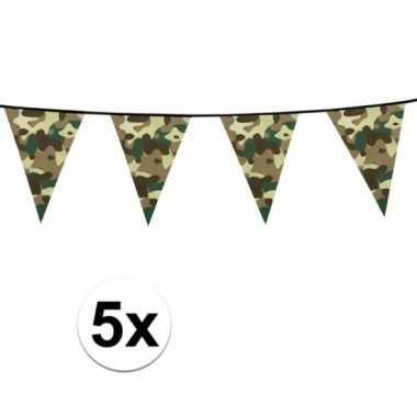 5x camouflage slinger 6 meter