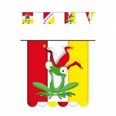5x stuks vlaggenlijn carnaval oeteldonk 3 meter