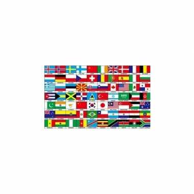 70 nationaliteiten vlag