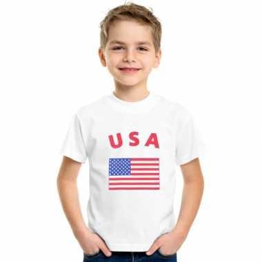 Amerikaans vlaggen t-shirts voor kinderen