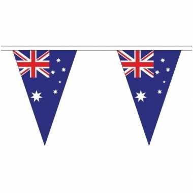 Australische landen versiering vlaggetjes 20 meter