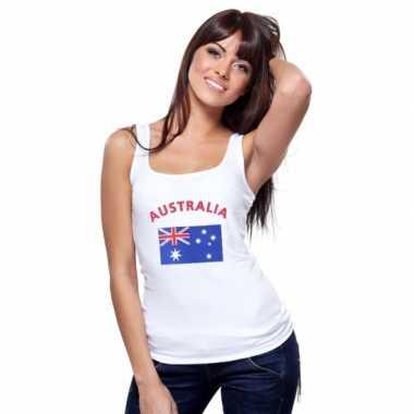 Australische vlag tanktop / singlet voor dames