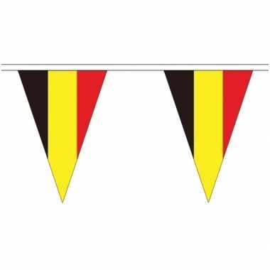 Belgische landen versiering vlaggetjes 20 meter