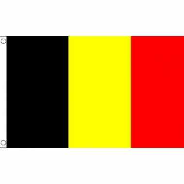 Belgische mega vlag 150 x 240 cm
