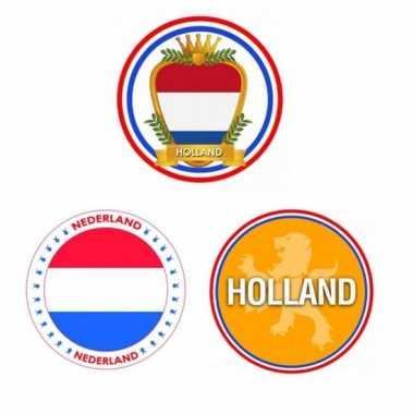 Bierviltjes met verschillende holland prints