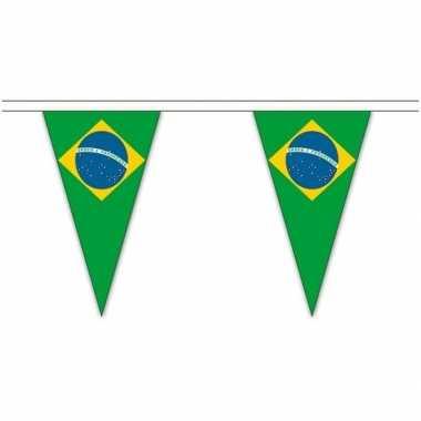 Braziliaanse landen versiering vlaggetjes 5 meter