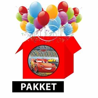Cars kinderfeest pakket