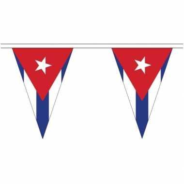 Cubaanse landen versiering vlaggetjes 20 meter