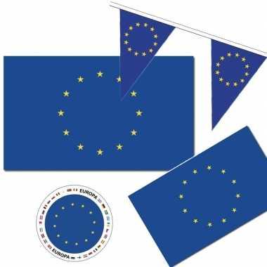 Feestartikelen europa versiering pakket