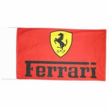 Ferrari merchandise vlaggen 150 x 90 cm 10072994