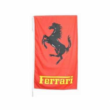 Ferrari merchandise vlaggen 150 x 90 cm