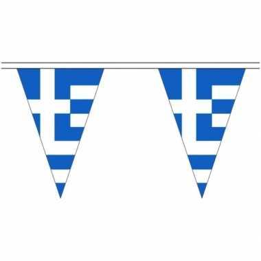 Griekse landen versiering vlaggetjes 20 meter