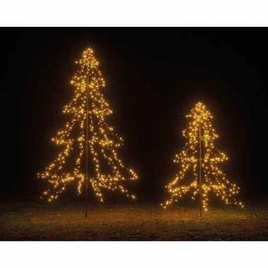 Grote led boom kerstverlichting met mast 200 cm