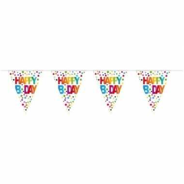 Happy birthday vlaggenlijn 10 meter