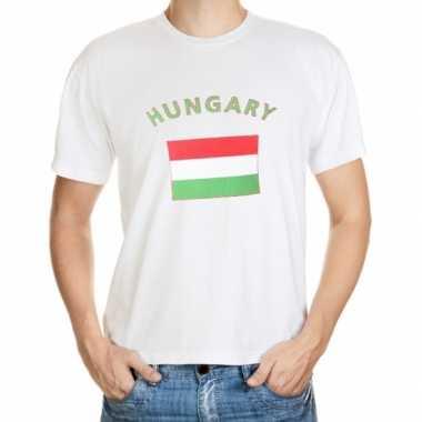 Hongarije vlaggen shirts
