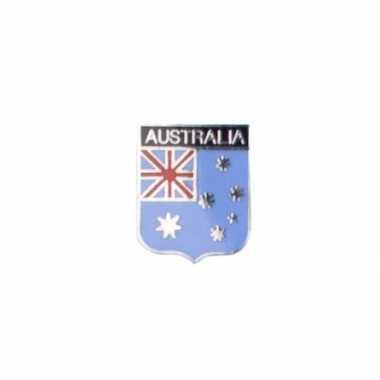 Kleine metalen australische vlag pin