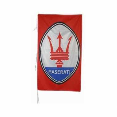 Maserati merchandise vlaggen 150 x 75 cm