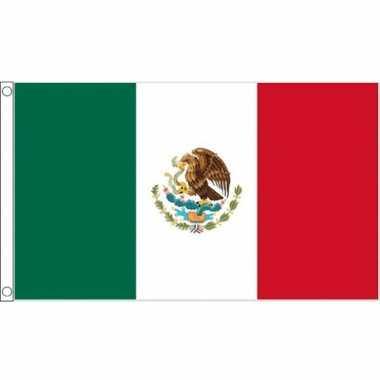 Mexicaanse mega vlag 150 x 240 cm