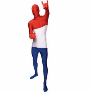 Morphsuit kostuum nederlandse vlag