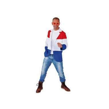 Nederlandse vlag colbert voor heren