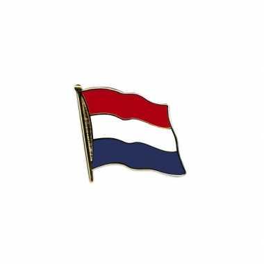 Nederlandse vlag op pin