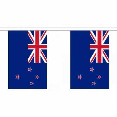 Nieuw zeeland vlaggenlijn 9 meter