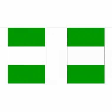 Nigeria vlaggenlijnen