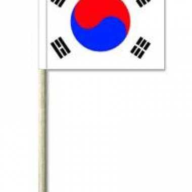 Partyprikkers zuid-korea 50 stuks