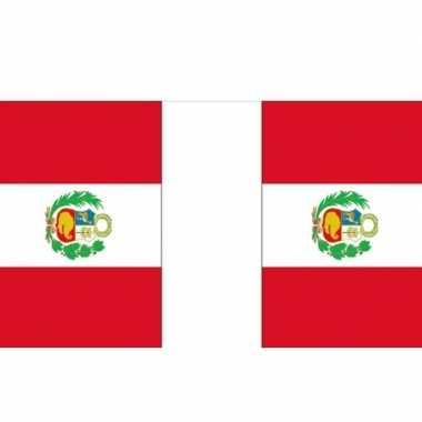 Peru vlaggenlijn deluxe 9 m