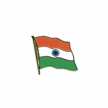 Pin speld vlag india 20 mm