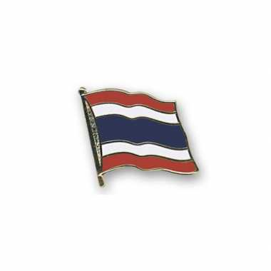 Pin speld vlag thailand 20 mm