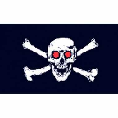 Piratenvlaggen jolly roger eyes