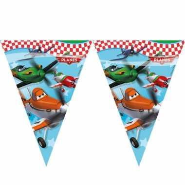Plastic vlaggenlijn van planes 2 3 meter