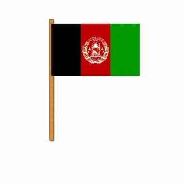 Polyester zwaaivlag van afghanistan