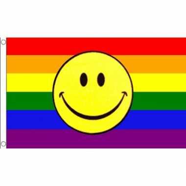 Regenboog vlaggen lbgt community