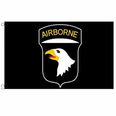 Screaming eagles vlag 101st airborne division vlag 150 x 90 cm