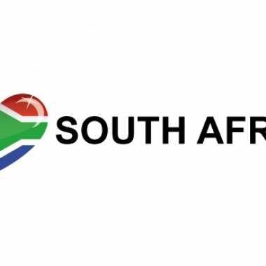 Set van 5x stuks koffer stickers i love south africa