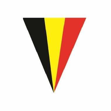 Slinger met de belgische vlag 5 meter