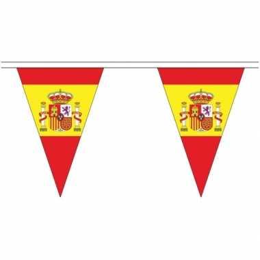 Spaanse landen versiering vlaggetjes 5 meter
