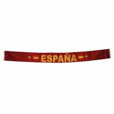 Spaanse supporters sjaal 150 cm