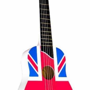 Speelgoed gitaar engelse vlag