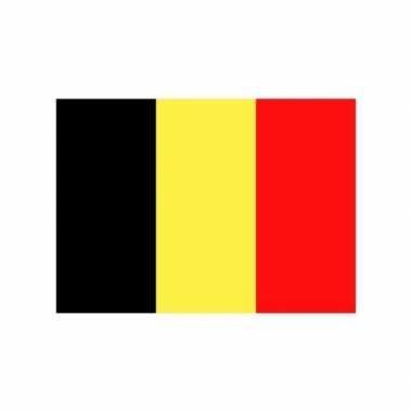Stickers van de belgische vlag